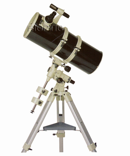 203mm 8inch F800mm Short Tube Newtonian Equatorial Reflector Telescope With Aluminium Tripod