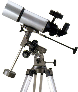 "80mm/3.2""inch equatorial telescope"