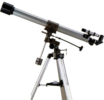 "60mm/2.4""inch equatorial telescope"